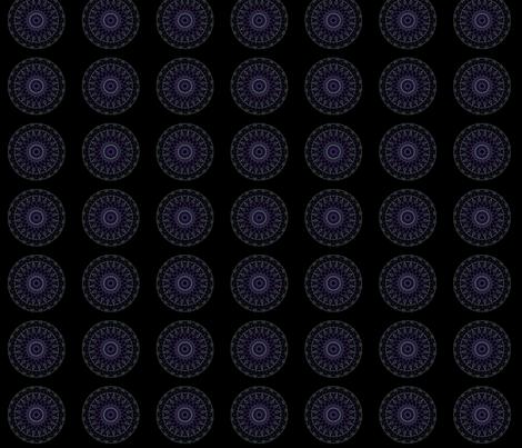 purpleteal_stainglass fabric by jkayep2 on Spoonflower - custom fabric