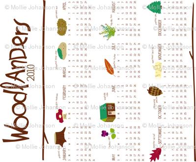 Woodlanders 2010 Calendar