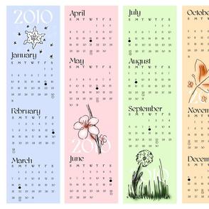 2010 Seasonal Calendar