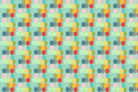 ovals - seasons fabric by joybucket on Spoonflower - custom fabric