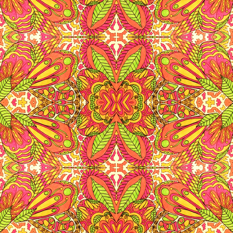 Fancy Teardrop #2 fabric by societydeb on Spoonflower - custom fabric