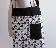 """Giant 1"""" Gingham_Invaded"""