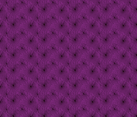 Spidery Web - Purple Decay fabric by voodoorabbit on Spoonflower - custom fabric