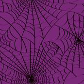 Spidery Web - Purple Decay