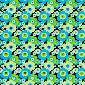 Mod Blossom Blue