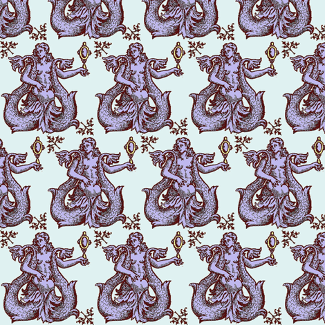 Siren 2 fabric by nalo_hopkinson on Spoonflower - custom fabric
