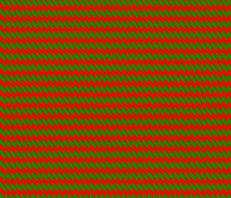 vll_candy_cane_check_2 fabric by victorialasher on Spoonflower - custom fabric