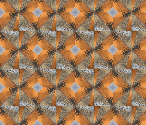 desert morning fabric by ladybugx on Spoonflower - custom fabric