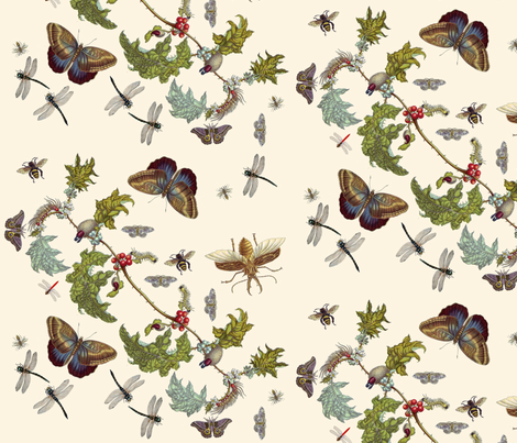 Pollinate fabric by nalo_hopkinson on Spoonflower - custom fabric