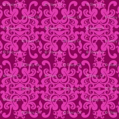 SCK - Pink on Pink Damask