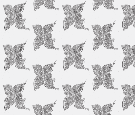 JamJax Invisible Butterfly fabric by jamjax on Spoonflower - custom fabric