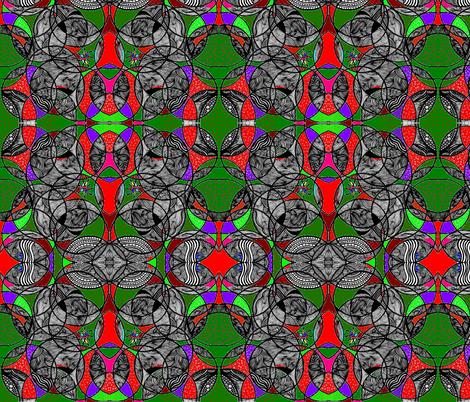 JamJax Forest Fauna fabric by jamjax on Spoonflower - custom fabric
