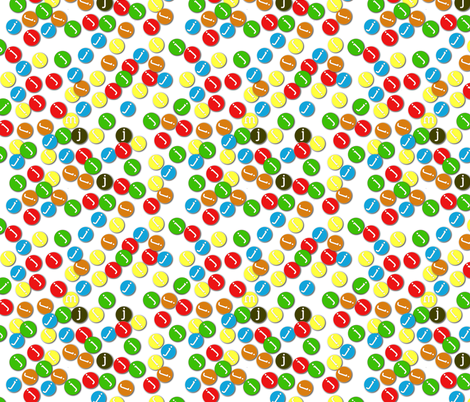 J's fabric by wiccked on Spoonflower - custom fabric