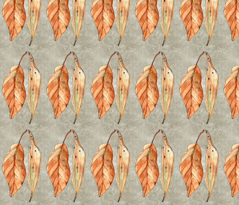 wiccked leaves fabric by wiccked on Spoonflower - custom fabric