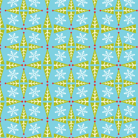 Frost fabric by heatherdutton on Spoonflower - custom fabric