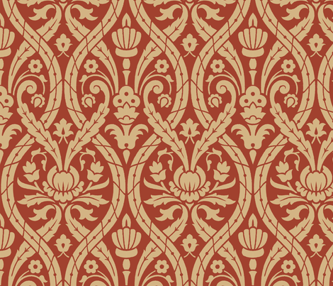 Serpentine 3a fabric by muhlenkott on Spoonflower - custom fabric
