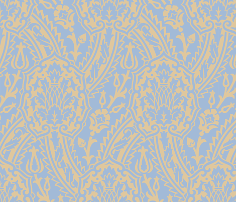 Damask 10f fabric by muhlenkott on Spoonflower - custom fabric