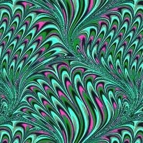 Marbelized green