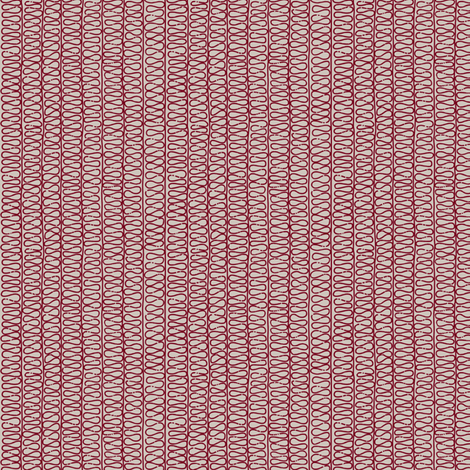 PS Red Repeat fabric by risu on Spoonflower - custom fabric