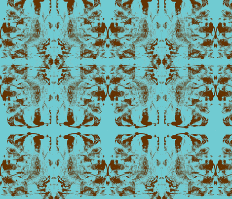 JamJax Turquoise fabric by jamjax on Spoonflower - custom fabric