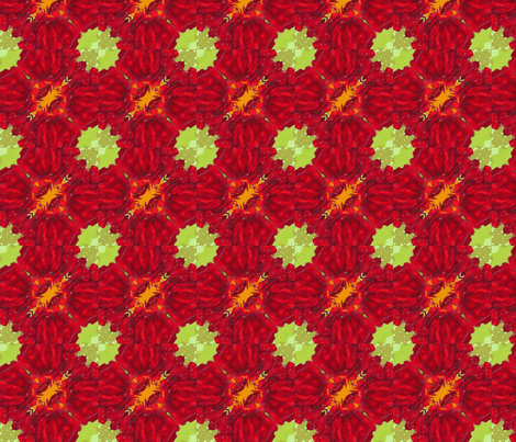 2x2_red_flower_45_Picnik_collage-ch fabric by khowardquilts on Spoonflower - custom fabric