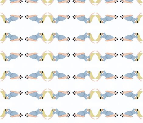 Alice in Wonderland fabric by karenharveycox on Spoonflower - custom fabric