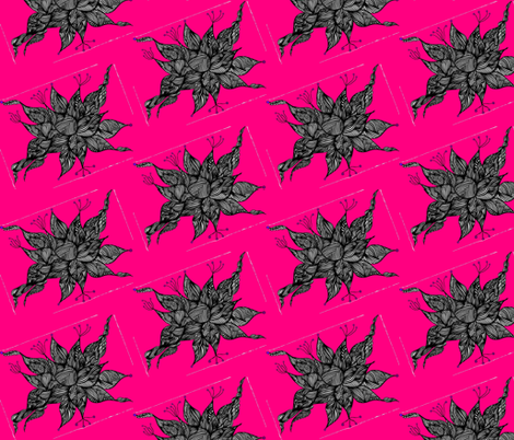 JamJax Pink Mini Tilt fabric by jamjax on Spoonflower - custom fabric
