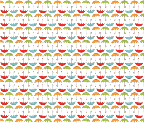 Fat Quarter Bundle - Spring Picnic fabric by natalie on Spoonflower - custom fabric