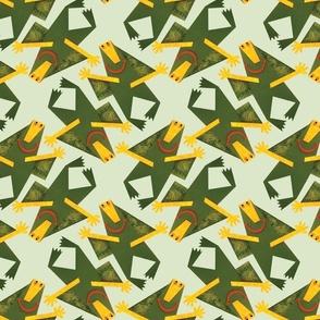 Green Monster Swarm!
