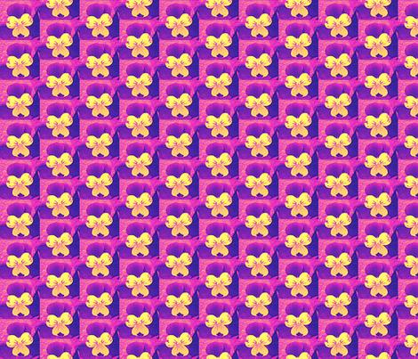 cross_e_c_purple_and_yellowjohnie-jump-ups_6_28_09_006 fabric by khowardquilts on Spoonflower - custom fabric