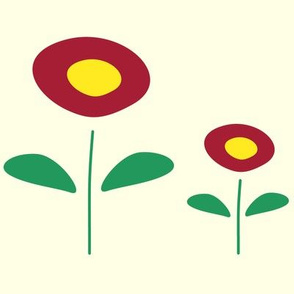 Cute Abstract Flowers