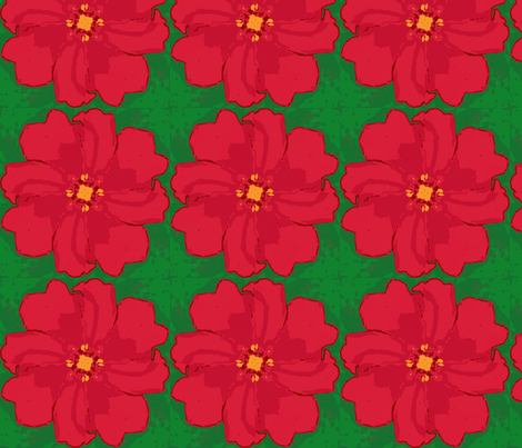 2x2_pinwheel_crop_red_dahlia_Picnik_collage-ch-ed fabric by khowardquilts on Spoonflower - custom fabric