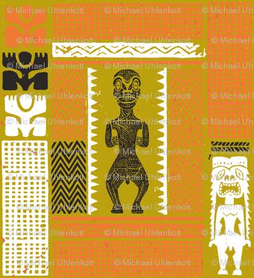 Marquesan Tiki 2b