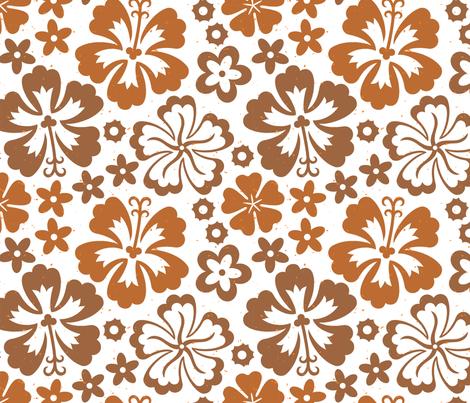 Aloha Flowers 7d fabric by muhlenkott on Spoonflower - custom fabric