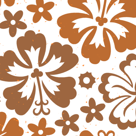 Aloha Flowers 7d fabric by muhlenkott on Spoonflower - custom fabric
