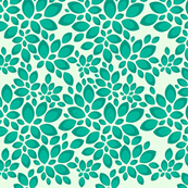 Leaves - Teal