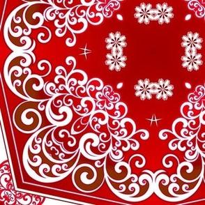 Red Swirls