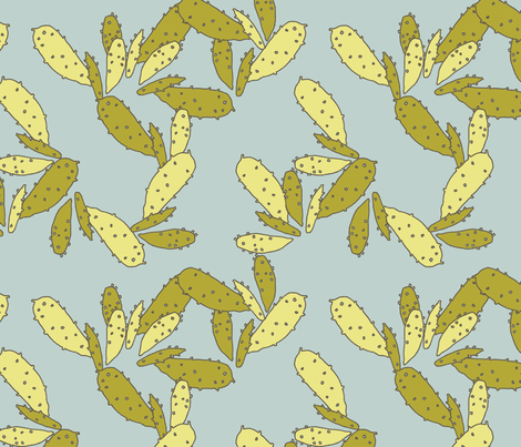 cactus fabric by holli_zollinger on Spoonflower - custom fabric