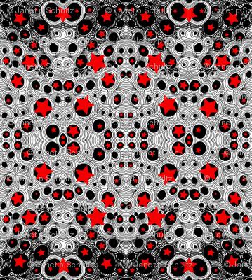 JamJax Red Bubbles