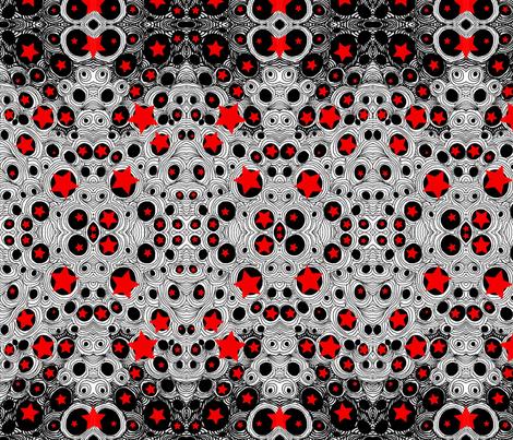 JamJax Red Bubbles fabric by jamjax on Spoonflower - custom fabric