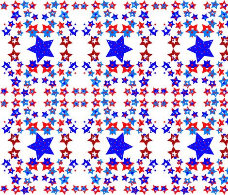 JamJax Star Power fabric by jamjax on Spoonflower - custom fabric