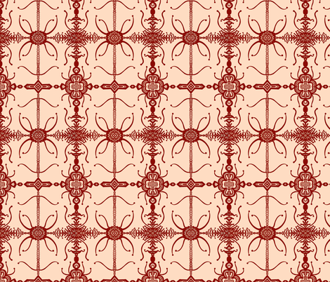 JamJax Iron Gate  fabric by jamjax on Spoonflower - custom fabric