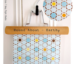 Round About  - Earthy Colorway