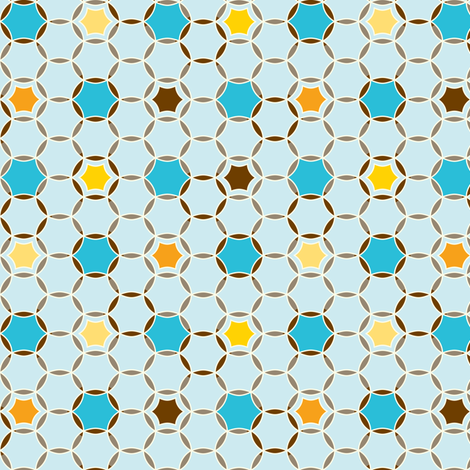 Round About  - Earthy Colorway fabric by heatherdutton on Spoonflower - custom fabric