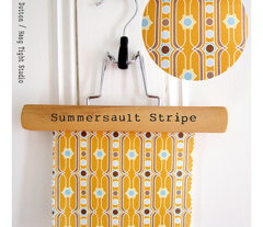 Summersault Stripe - Earthy Colorway