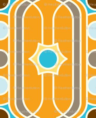 Summersault Stripe - Earthy Colorway