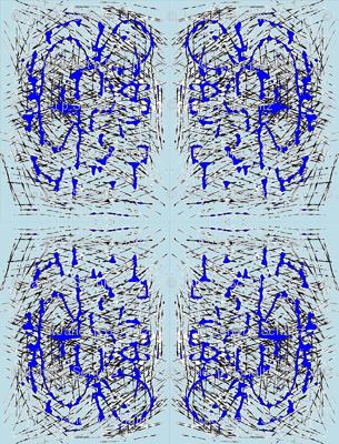 JamJax Blue Mirror