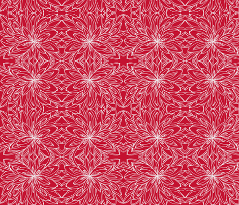 JamJax  red on red fabric by jamjax on Spoonflower - custom fabric