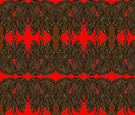 JamJax Redhead fabric by jamjax on Spoonflower - custom fabric