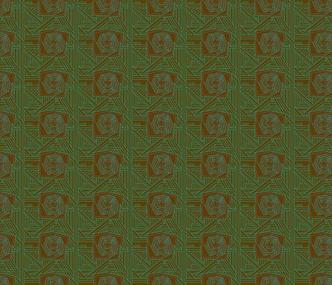 coffe_nroses fabric by sonofasockmonster on Spoonflower - custom fabric